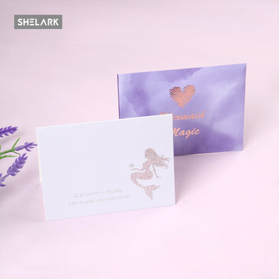 Mermaid Series Greeting Card - Shelark