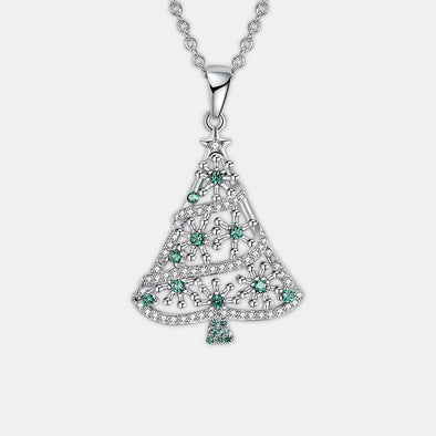 Green Tree Necklace - Shelark