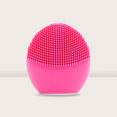 Pandora Series Silicone Sonic Facial Cleansing Brush - Cherry