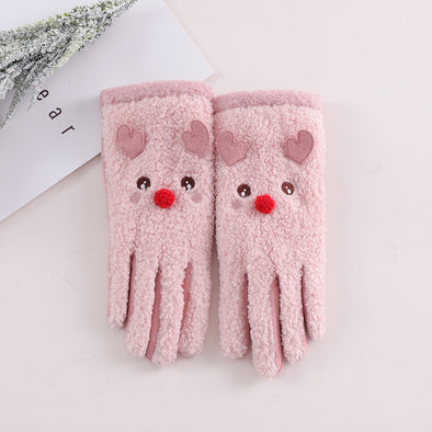 Lamb-like Christmas Gloves
