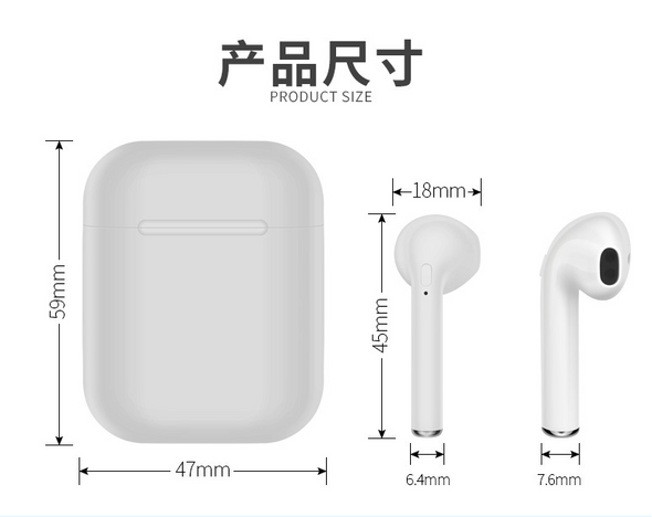 Practical Style Bluetooth Earphones