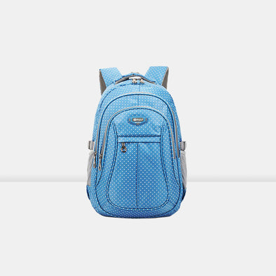 Polka Dot Light Ridge Children's Backpack - Shelark