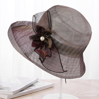 Fashion Flower Sun Protection Hat