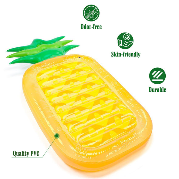 LIE-ON FLOAT - PINEAPPLE - Shelark