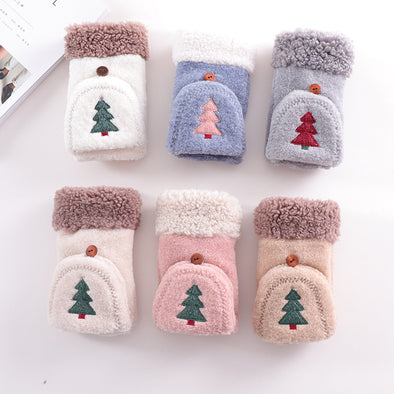 Christmas Tree Warming Gloves