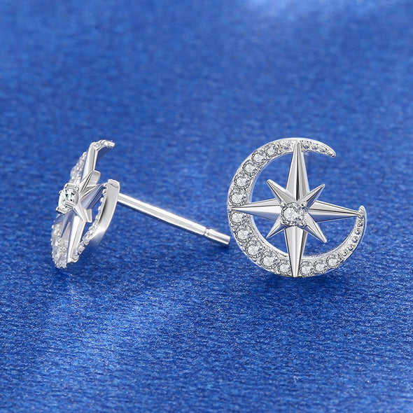 Starry Zircon Lady's Earrings - Shelark