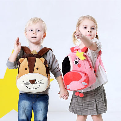 Plush Animal Kids Backpack for 2~5 Years old