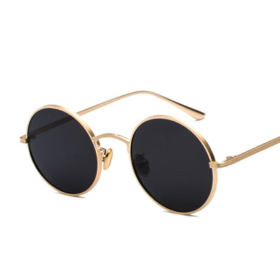 Round Retro Sunglasses - Shelark