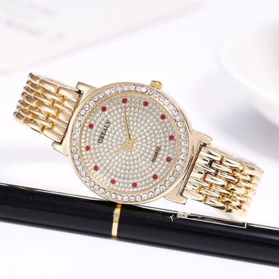 Rhinestone Lady's Watch - Shelark