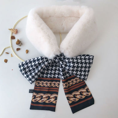 Bow Lady's Scarf