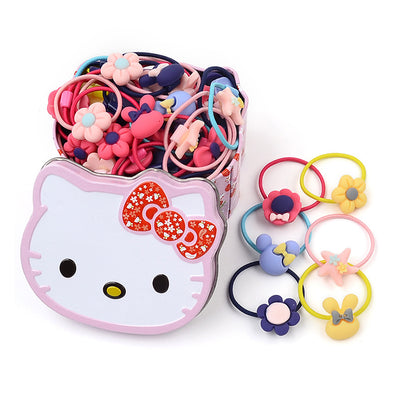 40pcs Girl's Hair Elastics - Shelark