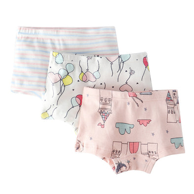 3 Pairs Assorted Pants Set for Girls - Shelark