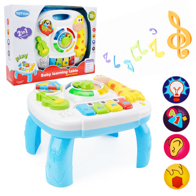 Baby Musical Activity Learning Table - Shelark