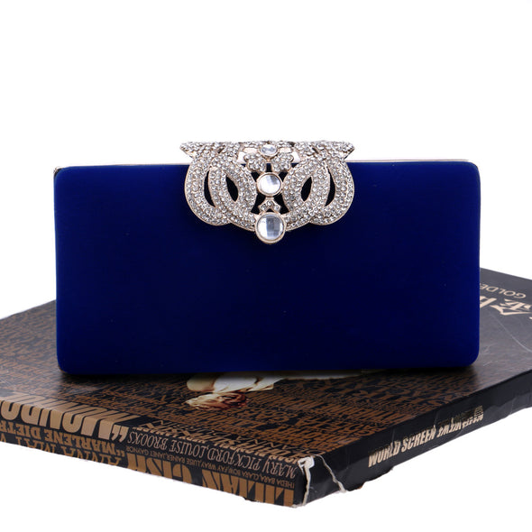 Crown Evening Bag - Shelark