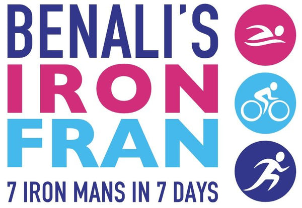 BURRELLS AMBASSADOR FRANNY BENALI TAKES ON THE #IRONFRAN CHALLENGE