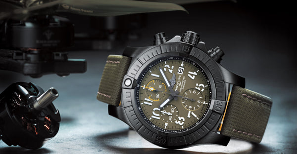 The Breitling Avenger incorporates exceptional reliability with functionality. Click to shop the luxury collection now.