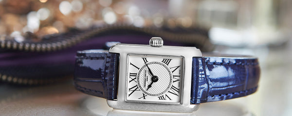 The passionate watchmaker Frederique Constant is an independent family owned brand continuing to push design boundaries and innovation. Click to shop now.