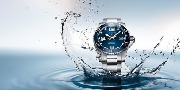 The year 2018 has seen Longines build on their expertise in the world of sports by expanding the HydroConquest collection. Click to shop now.