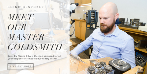 Meet our master goldsmith Sarel Du Plessis