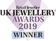 Retail Jeweller UK Jewellery Awards 2019 Winner