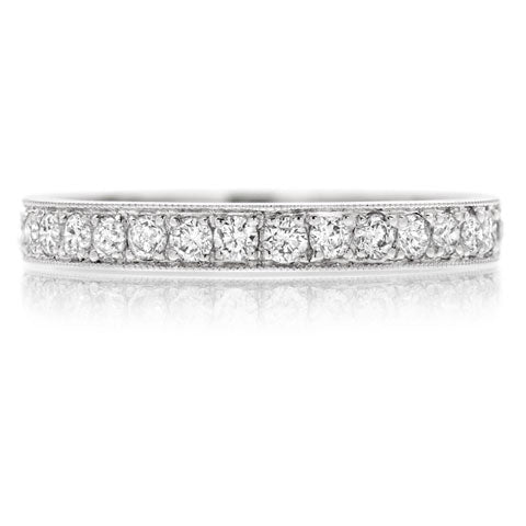 Platinum 1.00ct Diamond Full Eternity Ring