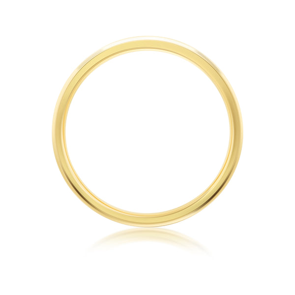 Burrells 18ct Yellow Gold 0.33ct Round Brilliant Cut Half Eternity Ring