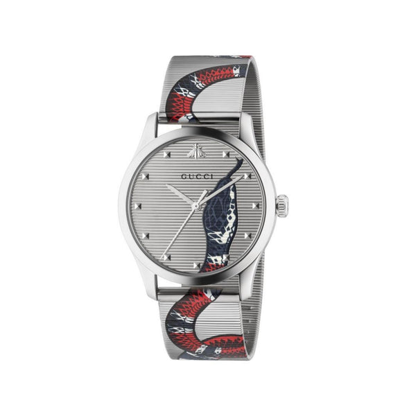 Gucci G-Timeless Kingsnake Watch front view