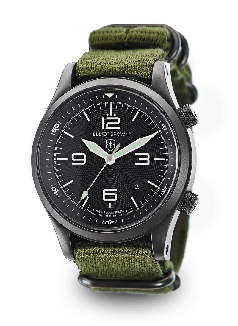Elliot Brown Canford Watch 202-004-N01