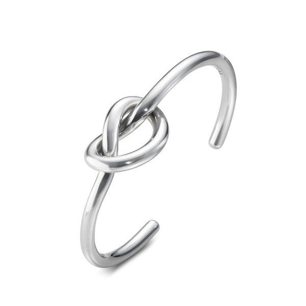 Georg Jensen Sterling Silver Love Knot Bangle 20000240000M