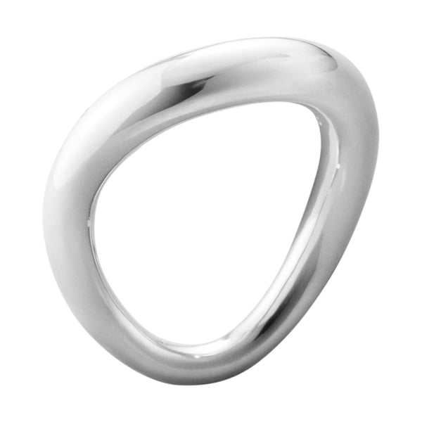 Georg Jensen Sterling Silver Offspring Ring 200001370004