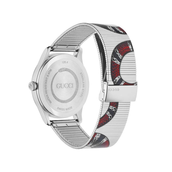 Gucci G-Timeless Kingsnake Watch back view