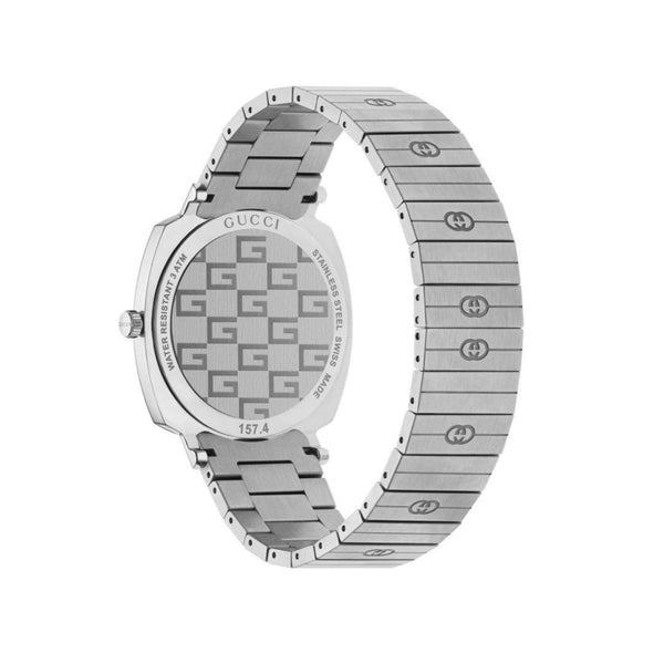 Gucci Grip Steel Watch 38mm back view