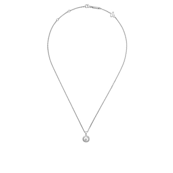 Chopard Happy Diamonds Icons White Gold Diamond Pendant 79A017-1001