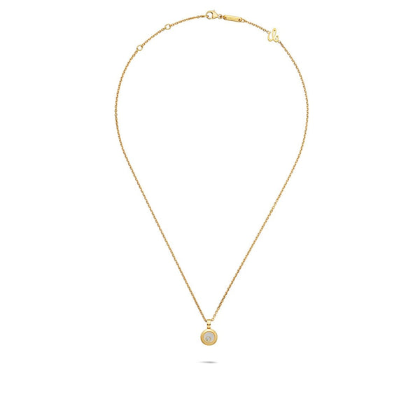 Chopard Happy Diamonds Icons 18ct Yellow Gold Pendant 79A017-0001