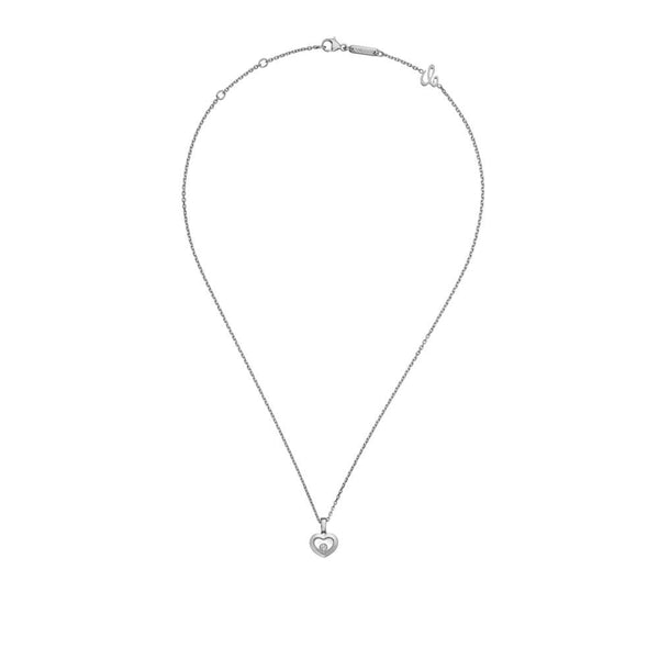 Chopard Happy Diamonds 18ct White Gold Icons Pendant 79A054-1001