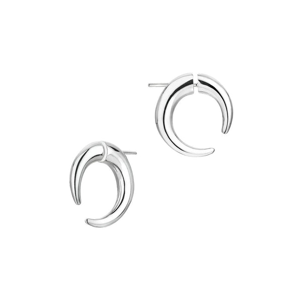 Shaun Leane Silver Quill Small Hoop Earrings QU040.SSNAEOS