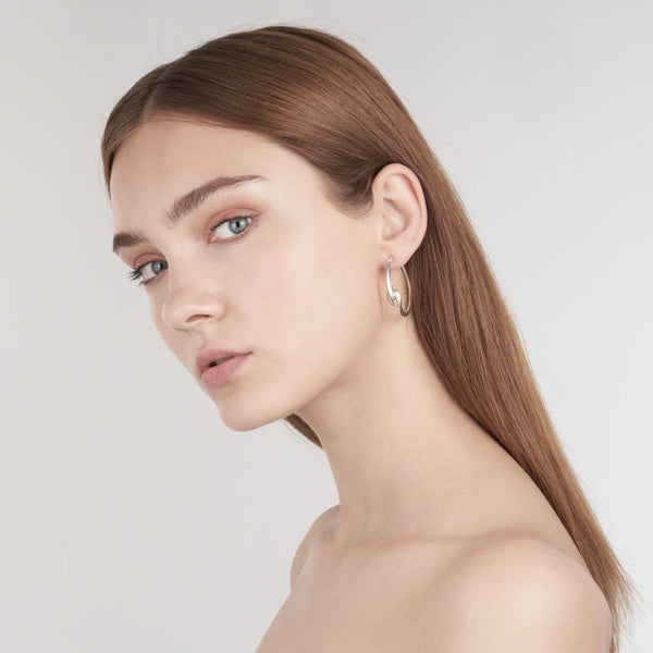 Shaun Leane Silver Hook Hoop Earrings HT021.SSNAEOS