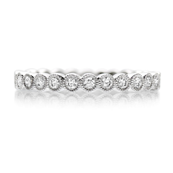 Platinum 0.55ct Diamond Full Eternity Ring