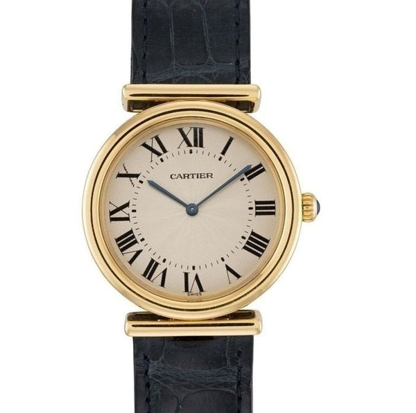 Pre-Owned Cartier 18ct Yellow Gold Vendome Bi-Plan 2220