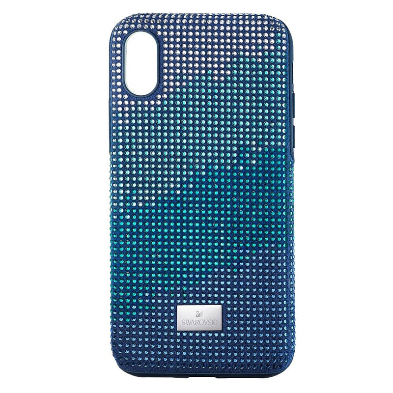 Swarovski Crystalgram Blue Smartphone Case with Bumper, iPhone® XS MAX 5533972