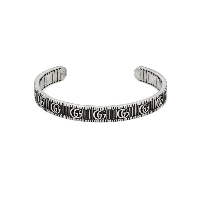 Gucci Double G Silver 8mm Bangle YBA551903001018