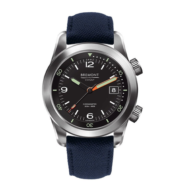 Bremont Argonaut Armed Forces Collection The Royal Navy Watch 42mm Face