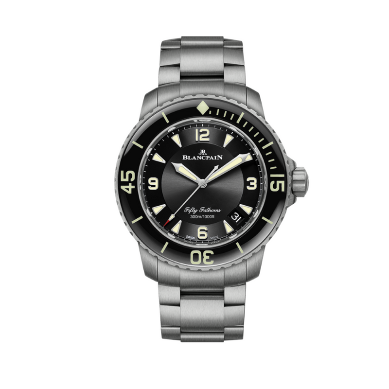 Blancpain Fifty Fathoms Automatique 45mm 5015 12B30 98