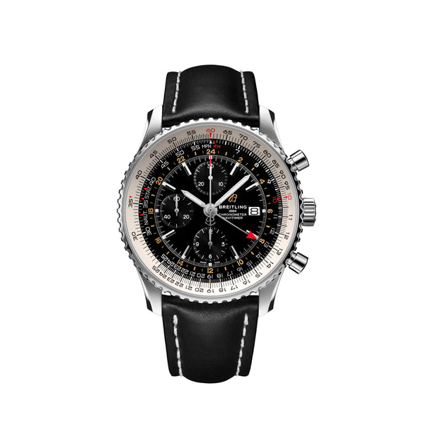 Breitling Navitimer Chronograph GMT 46 A24322121B2X1 Face