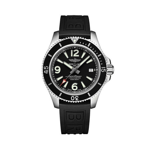 Breitling Superocean Automatic 42 Black A17366021B1S1 Face