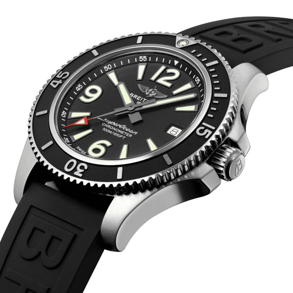 Breitling Superocean Automatic 42 Black A17366021B1S1 Crown