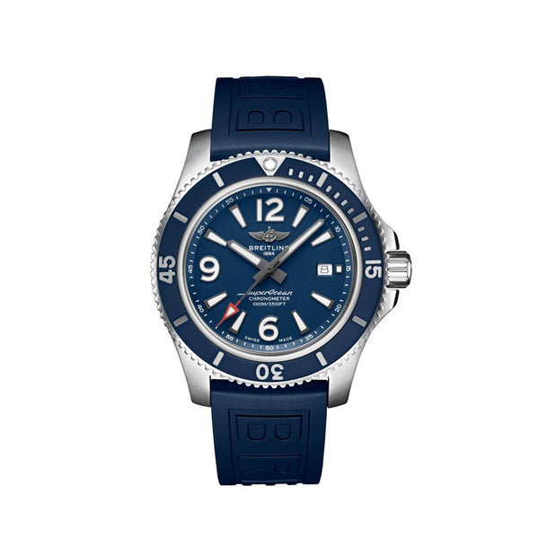 Breitling Superocean Automatic 44 Blue A17367D81C1S1 Face
