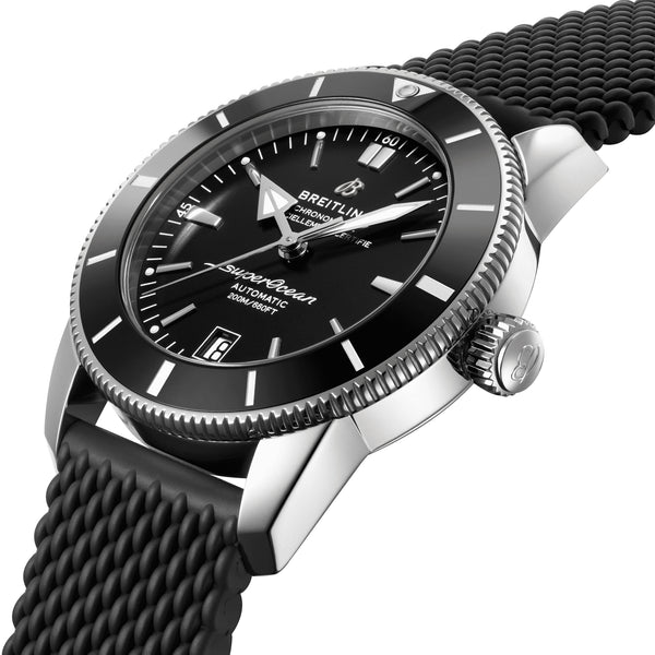 Breitling Superocean Heritage B20 Automatic 42 Steel Volcano Black AB2010121B1S1 Crown