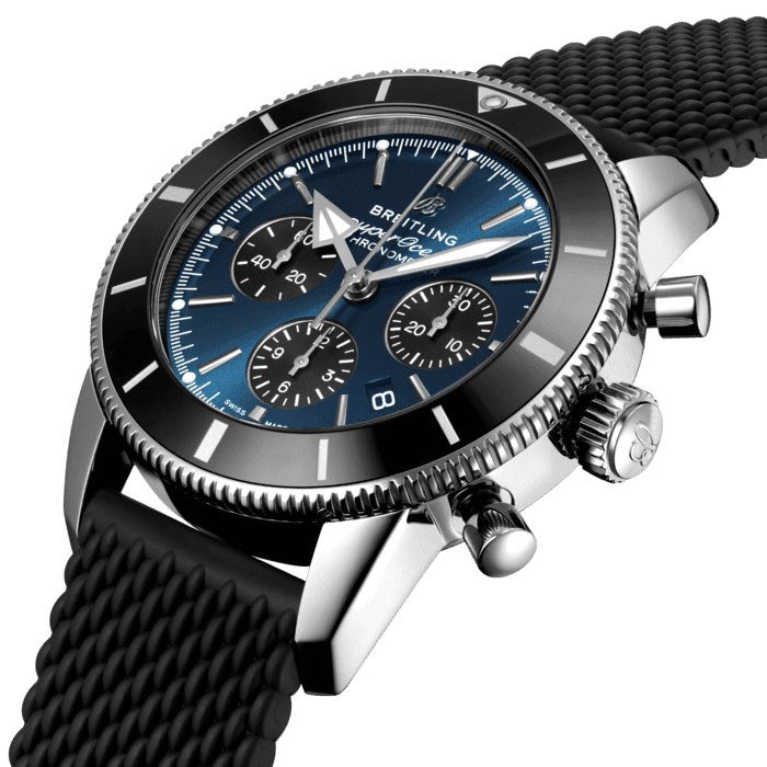 Breitling Superocean Heritage II B01 Chronograph 44 Watch AB0162121C1S1 Crown
