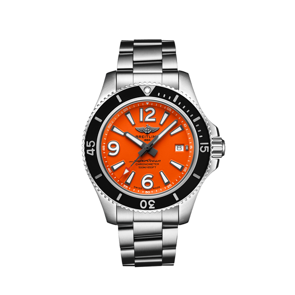 Breitling Superocean Automatic 42 Steel - Orange A17366D71O1A1
